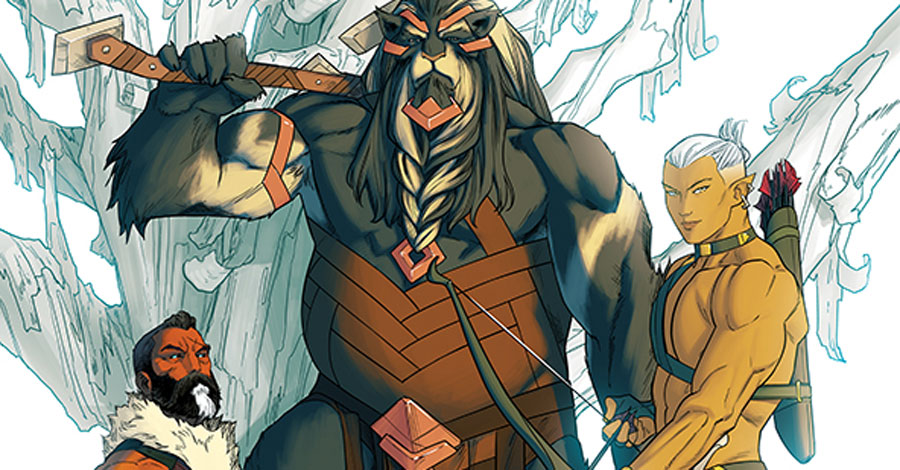 Zdarsky, Anka + Wilson reunite for new fantasy miniseries
