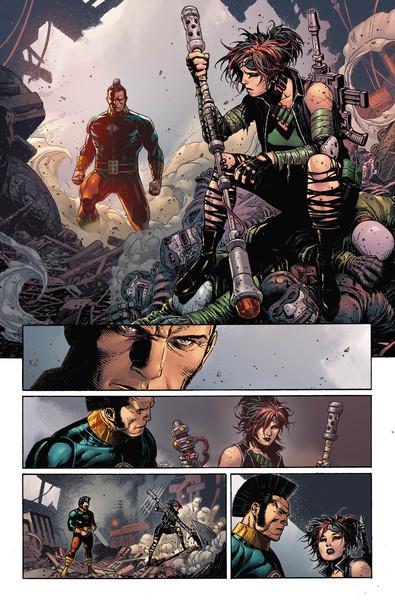 Legion of Super-Heroes: Millennium 2 pg11