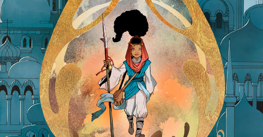 comiXology announces 'Adora and the Distance' OGN