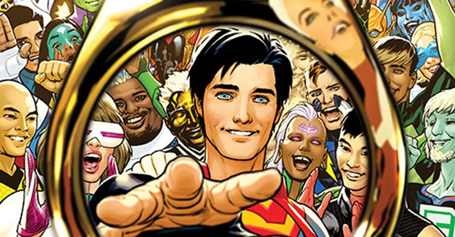DC reveals more Legion of Super-Heroes art