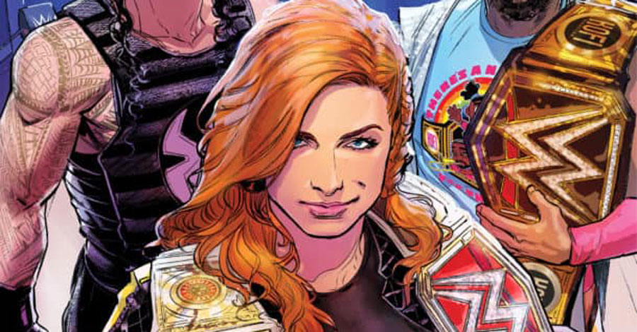 Becky Lynch takes center ring in new 'Smackdown Live' comic