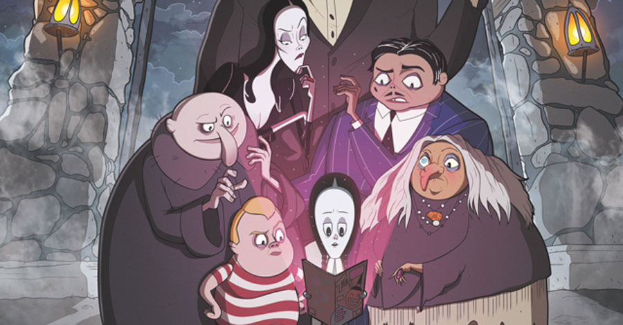 IDW to publish 'The Addams Family' one-shot ahead of the movie