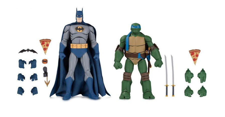 Holy cowabunga: Batman, Ninja Turtles team up for action figure sets