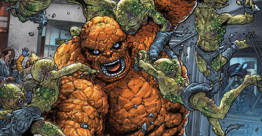 'Contagion' infects Marvel's street-level heroes in October