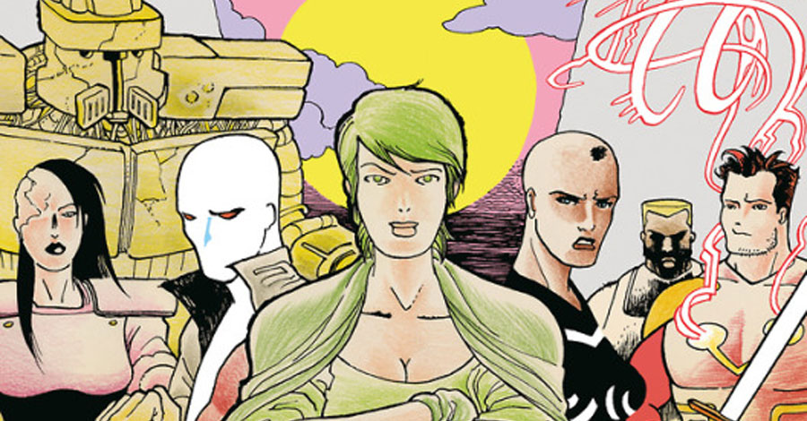 Michel Fiffe loads another round of 'Copra' in October