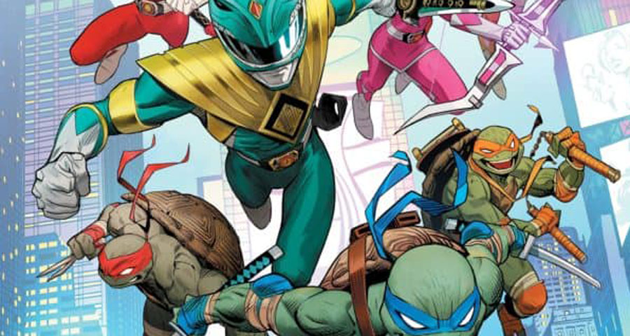 BOOM! + IDW team up for a Power Rangers + Ninja Turtles crossover