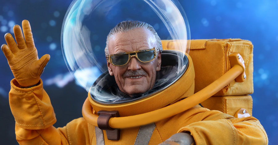 Hot Toys' out-of-this-world Stan Lee action figure