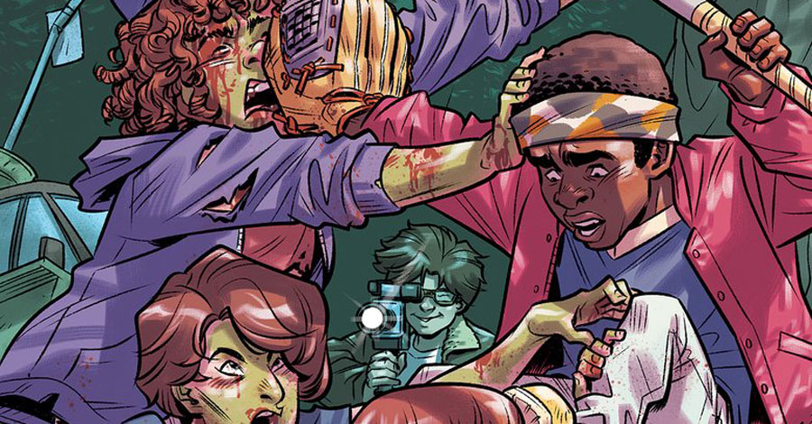 Dark Horse digs up a 'Stranger Things' zombie tale