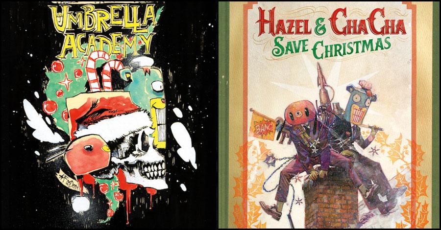 Umbrella Academy's Hazel and Cha Cha get a Christmas one-shot