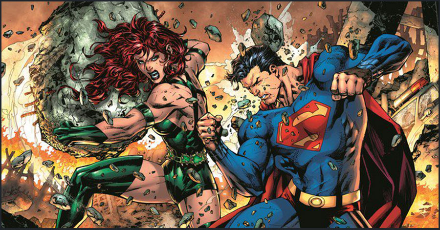 DC reveals more Jim Lee art from 'Legion of Super-Heroes: Millennium'