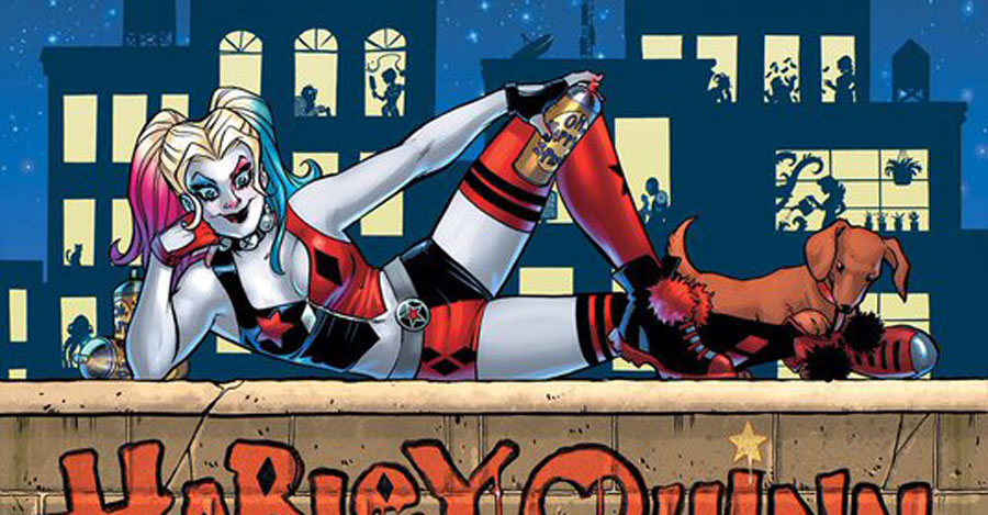 Palmiotti, Conner working on a Black Label Harley Quinn miniseries