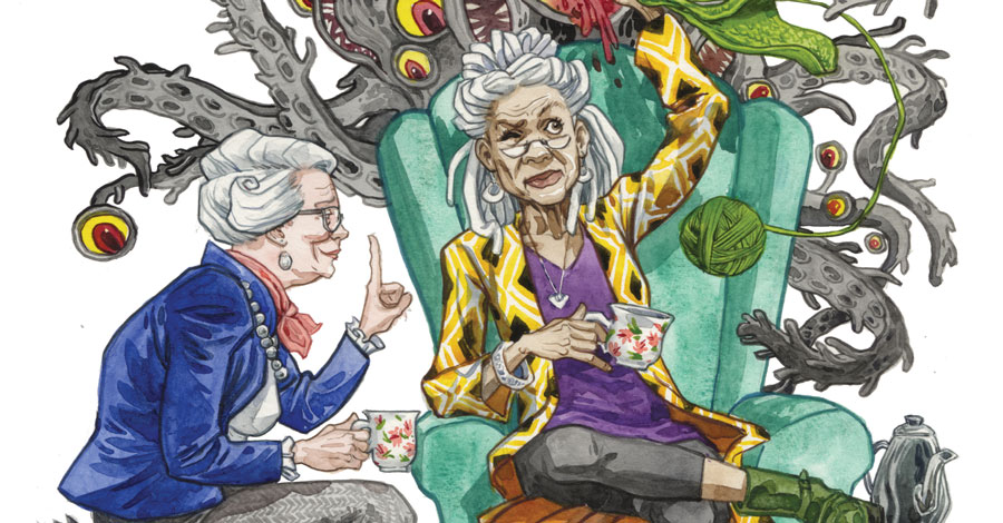 Little old ladies vs. the apocalypse: AHOY announces 'Ash & Thorn'