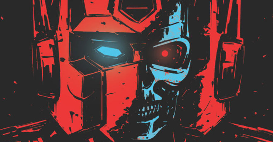 Transformers collide with the Terminator next March