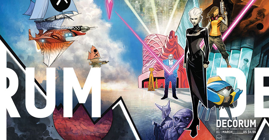 Hickman + Huddleston team for 'Decorum' in March