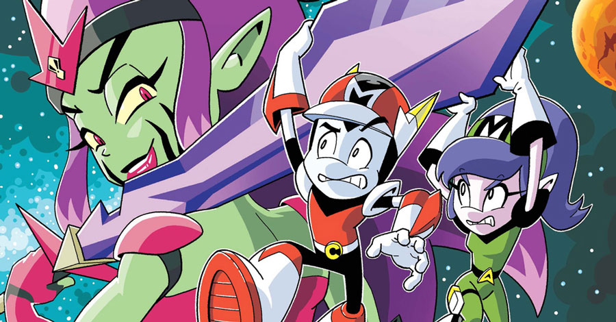 Exclusive Preview: 'Cosmo the Mighty Martian' #3