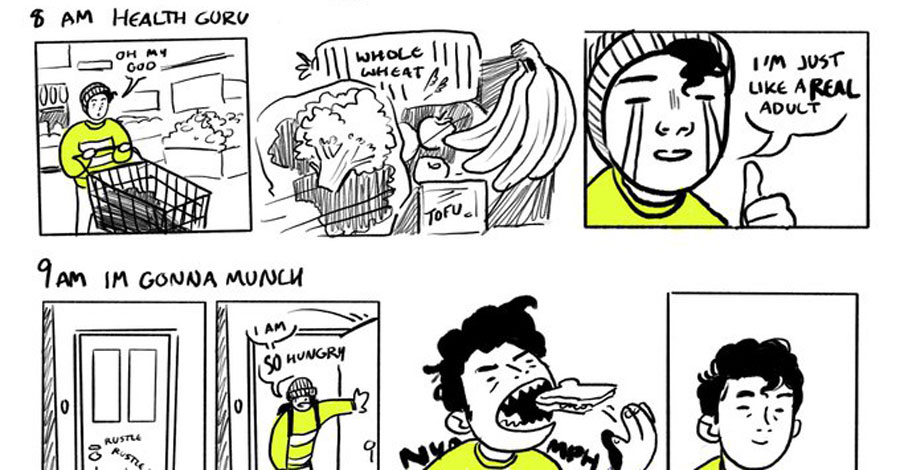Cartoonists go all in on Hourly Comics Day