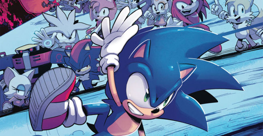 IDW announces Sonic spinoff series, new writer