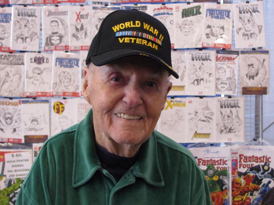 Rest in peace, Joltin' Joe Sinnott
