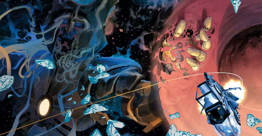 Ewing + Di Meo team for a new SF series from BOOM!