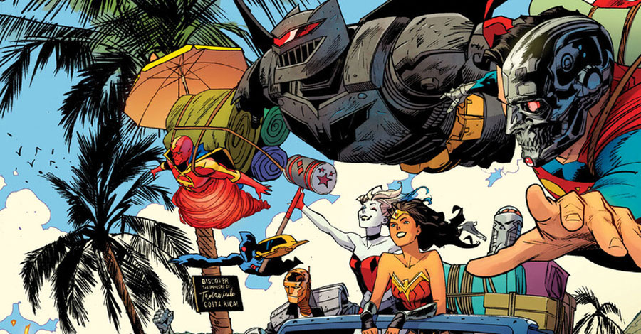 DC boots up 'DC Cybernetic Summer' anthology for July