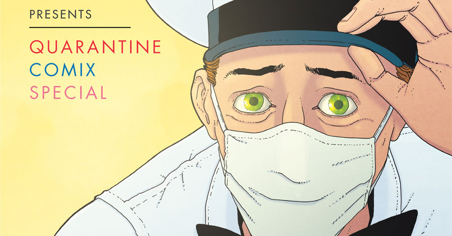 Quarantine Comix to be collected in September
