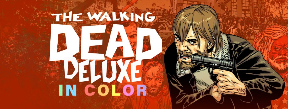 'The Walking Dead' will be re-released in full color