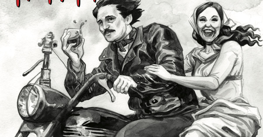 'Edgar Allan Poe's Snifter of Blood' creeps in from Ahoy just in time for Halloween