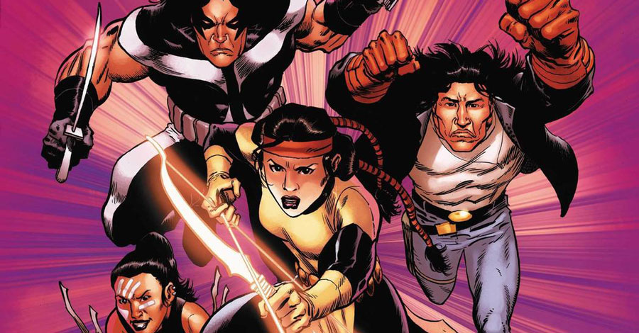 Marvel announces projects celebrating Indigenous history
