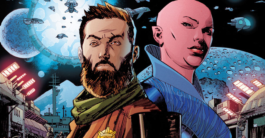 Chuck Austen returns to comics with 'Edgeworld'