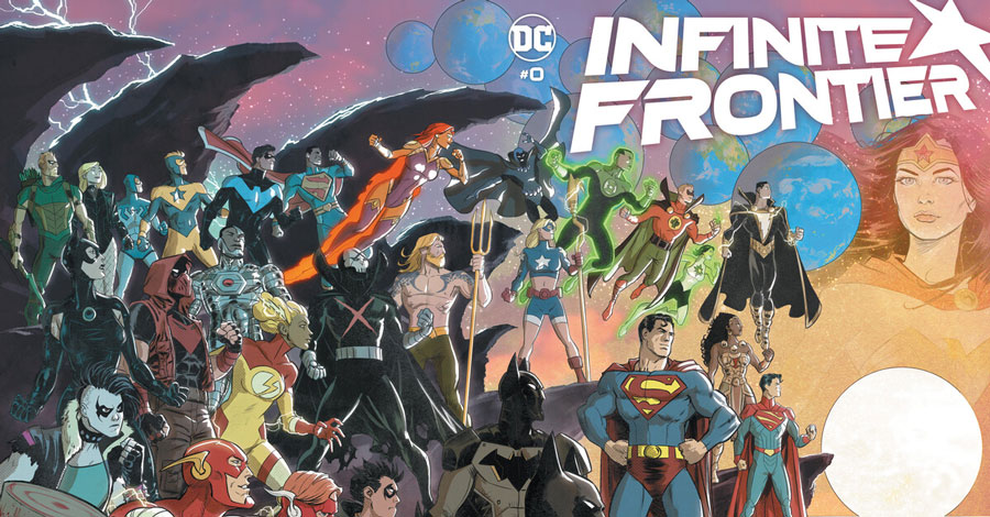 DC sails into an 'Infinite Frontier' in 2021