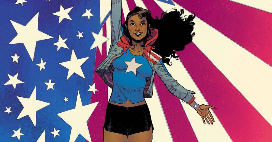America Chavez returns in a new series by Kalinda Vazquez + Carlos Gómez