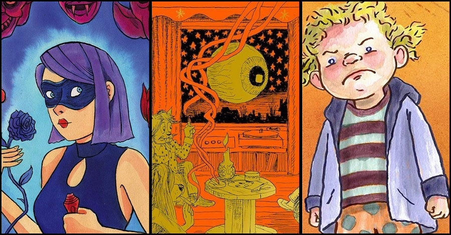 Fantagraphics' 2021 line-up includes Windsor-Smith, Panter, Sala and more