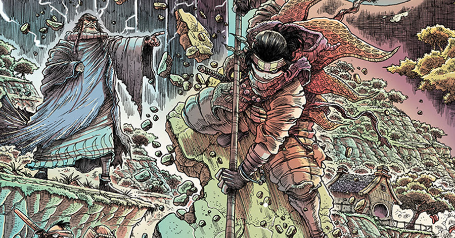 Dark Horse to publish a new 'kung-fu epic' from James Stokoe
