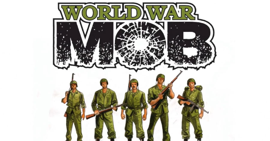Delsante + Caracuzzo put a contract out on Mussolini in 'World War Mob'