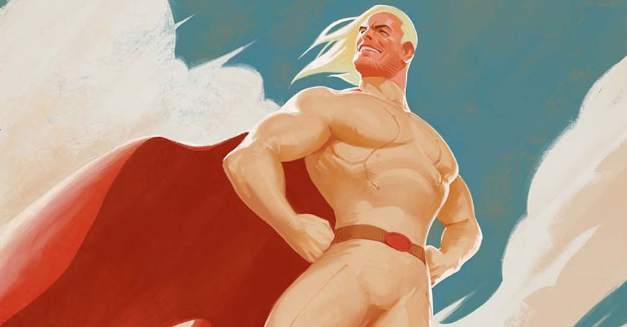 Orlando + Piazzalunga explore the death and return of a superhero in 'Project Patron'