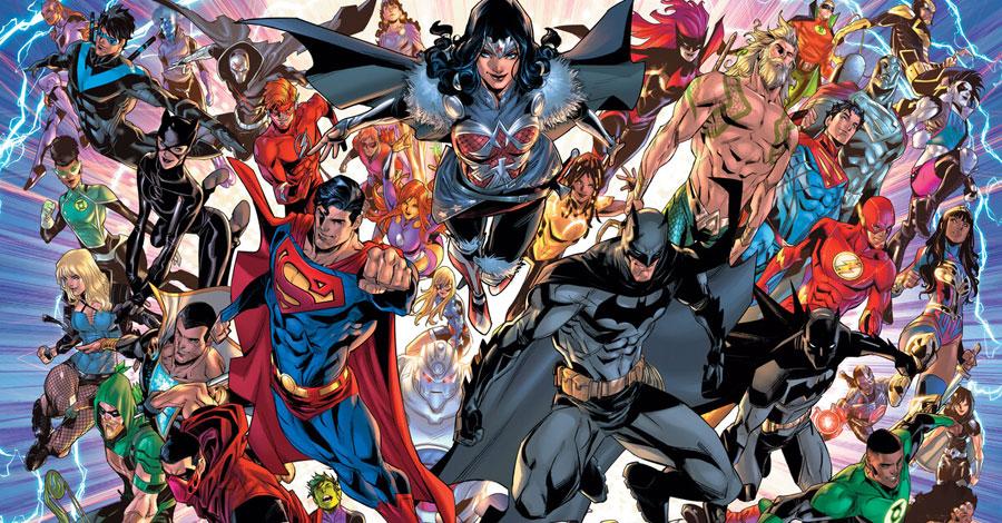 DC announces 'Infinite Frontier' miniseries