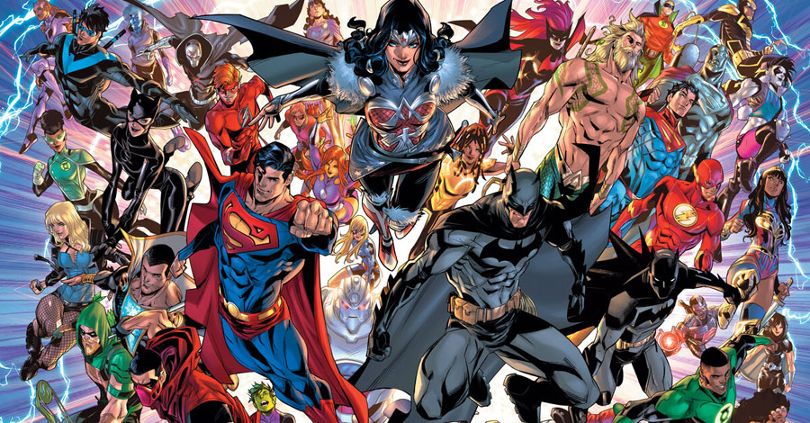 DC announces 'Infinite Frontier' miniseries