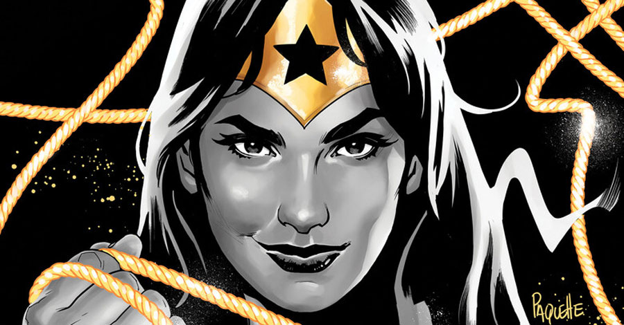 DC announces 'Wonder Woman: Black & Gold'