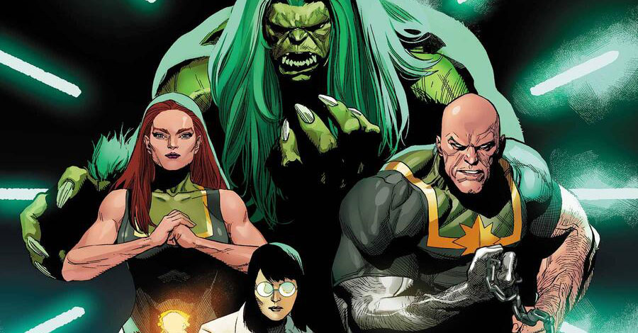Marvel announces 'Immortal Hulk' spinoff 'Gamma Flight'