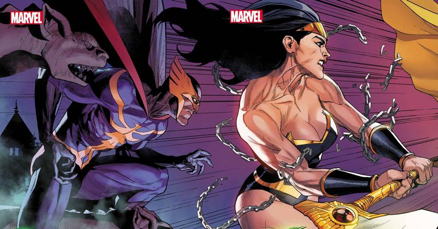 'Heroes Reborn' in June spotlights Nighthawk, Power Princess, 'Night-Gwen' and 'Murder Hornet'
