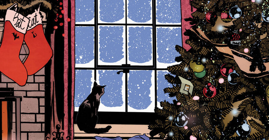 Christmas comes in July in the 'Batman/Catwoman Special'