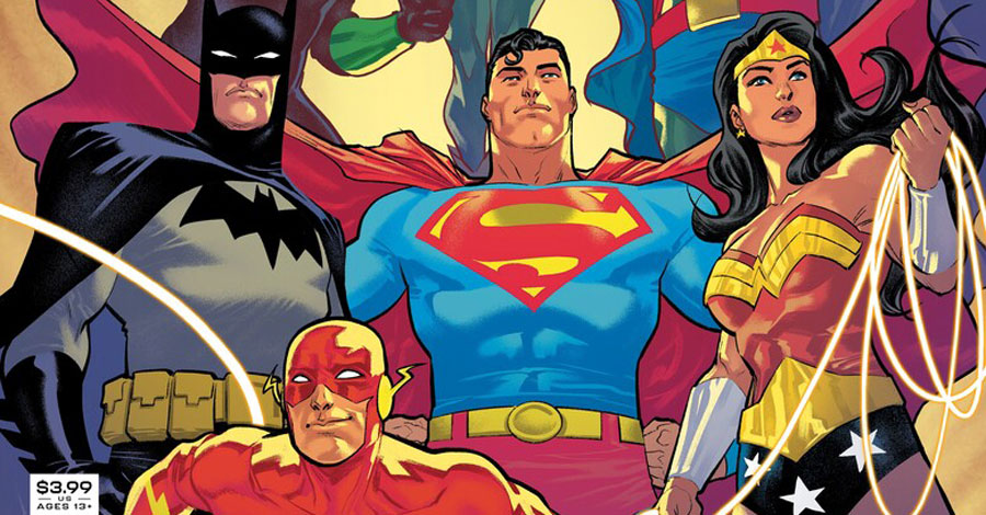 DC returns to the Animated Universe in 'Justice League Infinity'