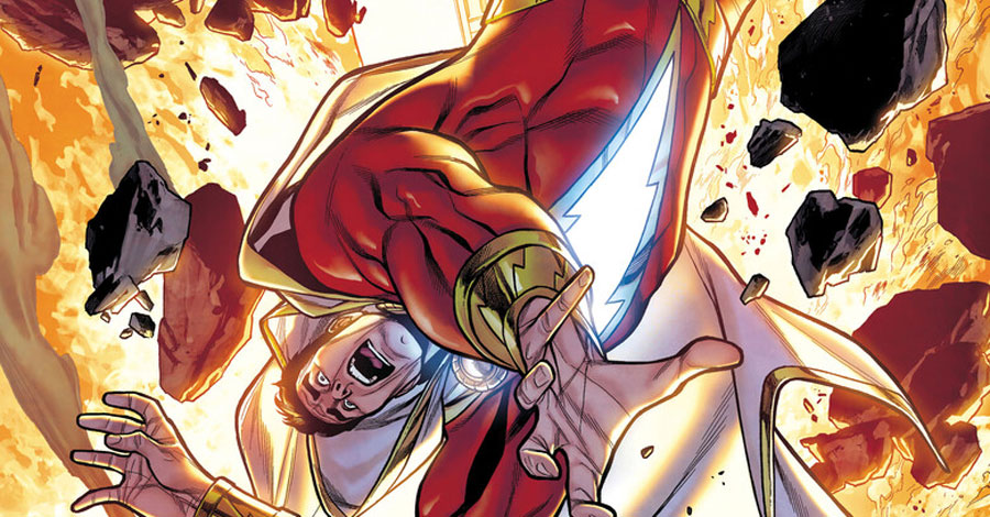Shazam! spins out of 'Teen Titans Academy' into a new miniseries
