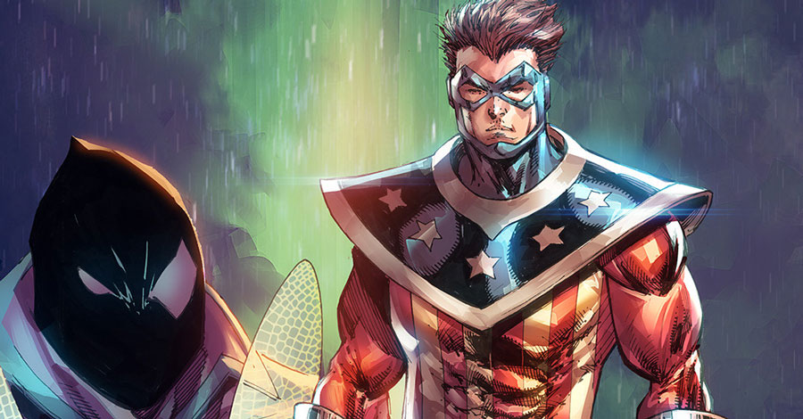David Gallaher will script Rob Liefeld's 'The Shield' one-shot for Archie Comics