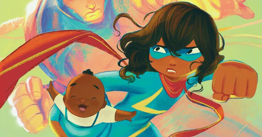 Marvel + Scholastic will release 'Ms. Marvel: Stretched Thin' this fall