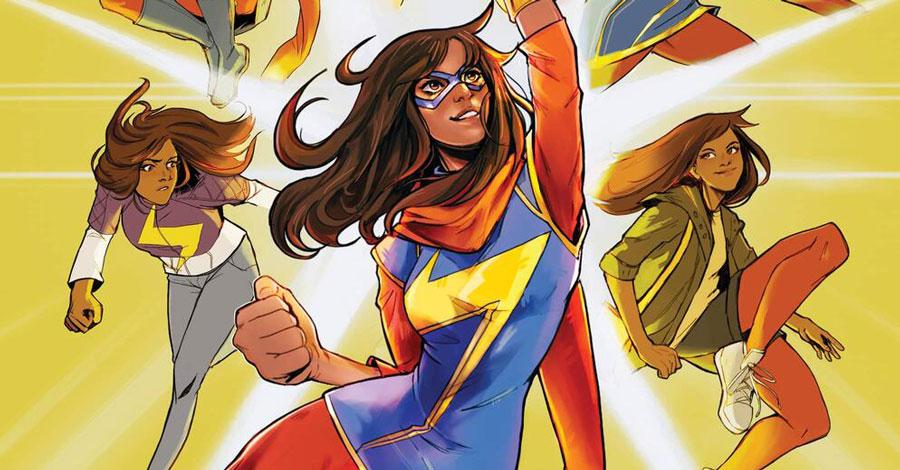 Samira Ahmed + Andrés Genolet will push Ms. Marvel 'Beyond the Limit'