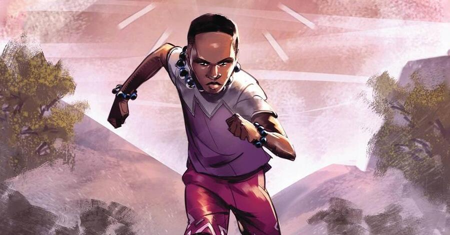 Marvel kicks off a new young readers line with 'Black Panther Legends'