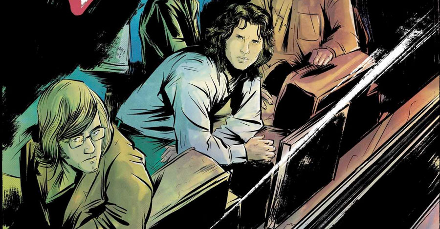Smash Pages Q&A: Leah Moore on 'The Doors: Morrison Hotel'