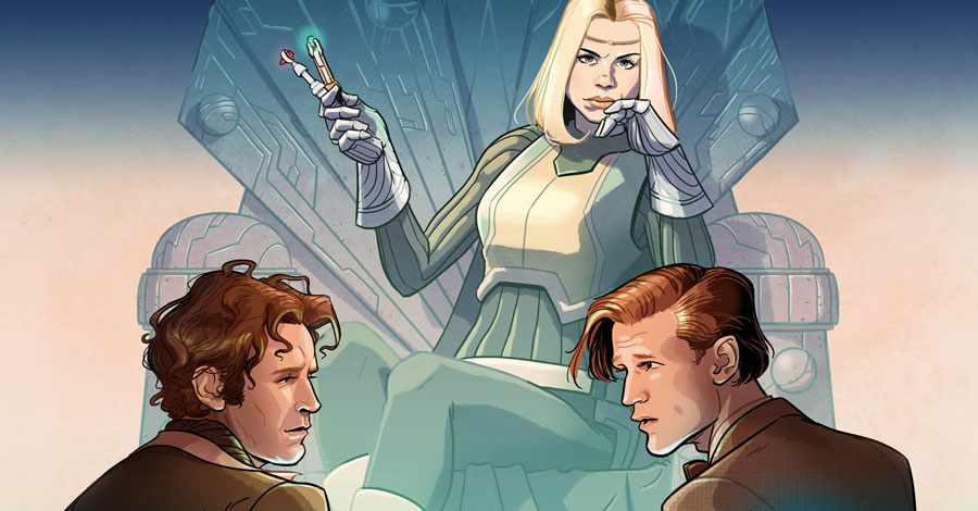 A pair of Doctors return in 'Doctor Who: Empire of the Wolf' this November