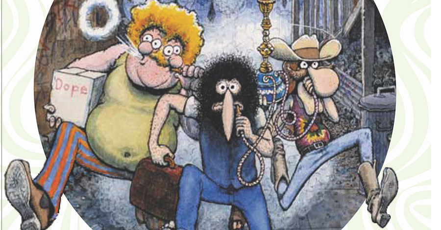 Fantagraphics will collect 'The Fabulous Furry Freak Brothers' into four volumes